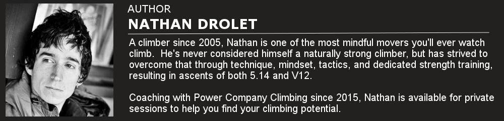 Nate Drolet Power Company Climbing