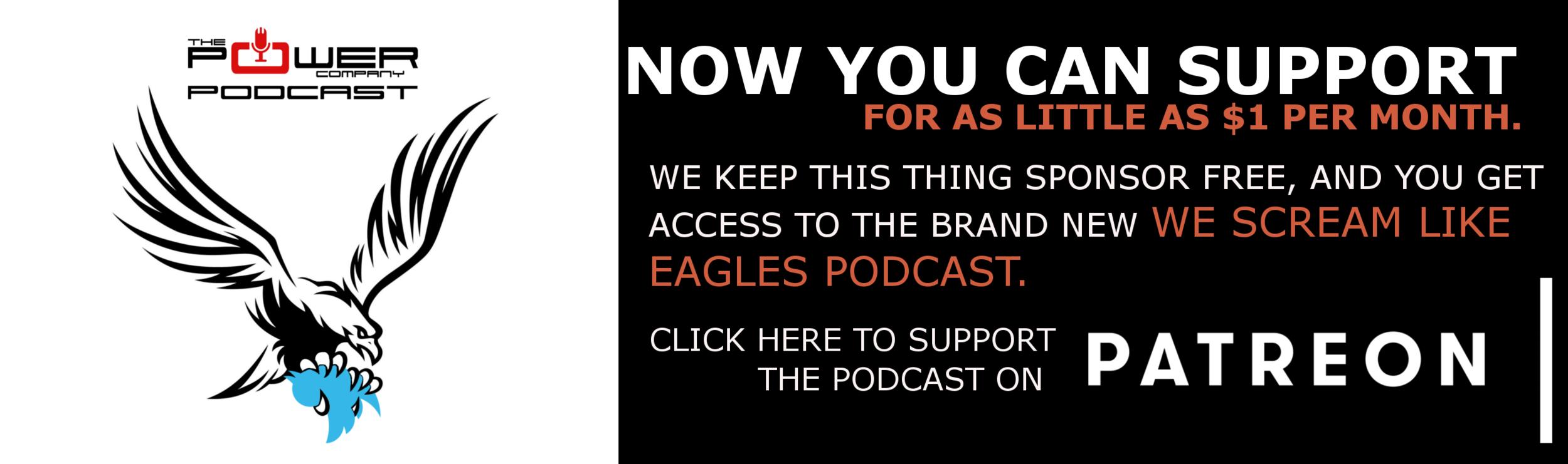 we scream like eagles podcast