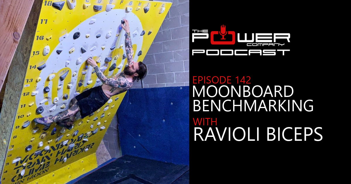 Ep 142 Moonboard Benchmarking with Ravioli Biceps.JPG