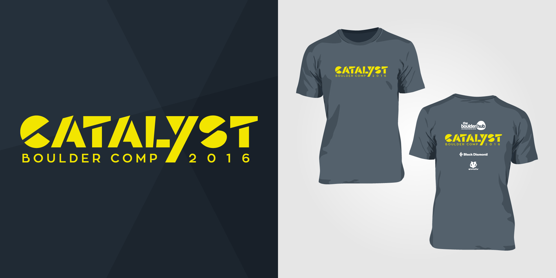 logo-tshirt-catalyst-bouldering-climbing-competition-hub