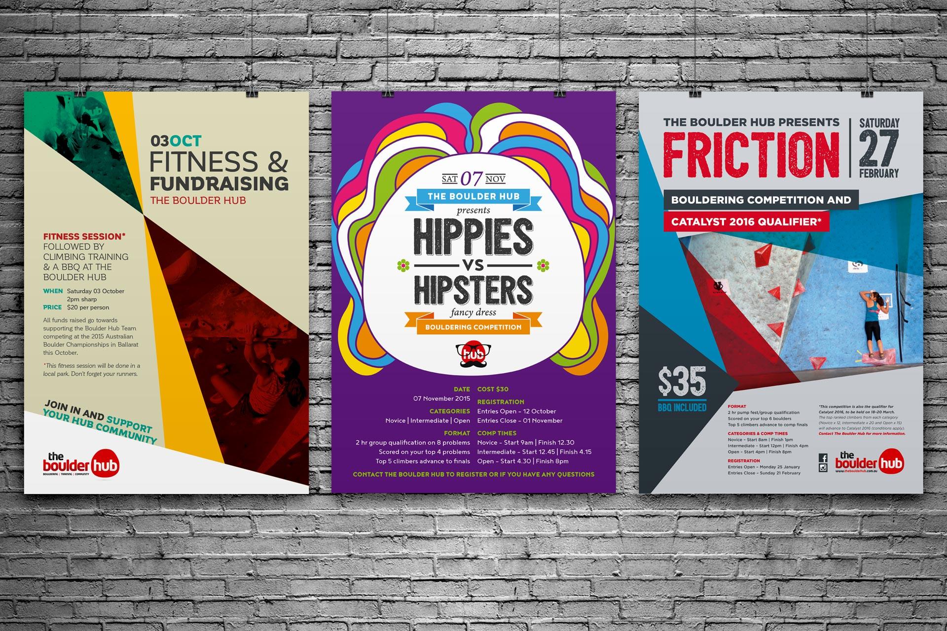 poster-climbing-bouldering-hippie-hipster-hub