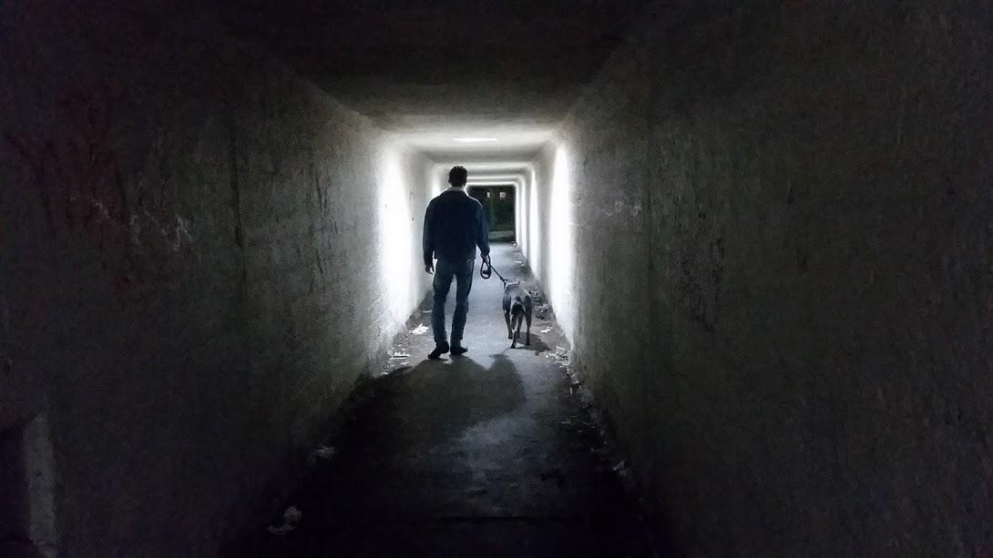 Depression can feel like a dark tunnel.