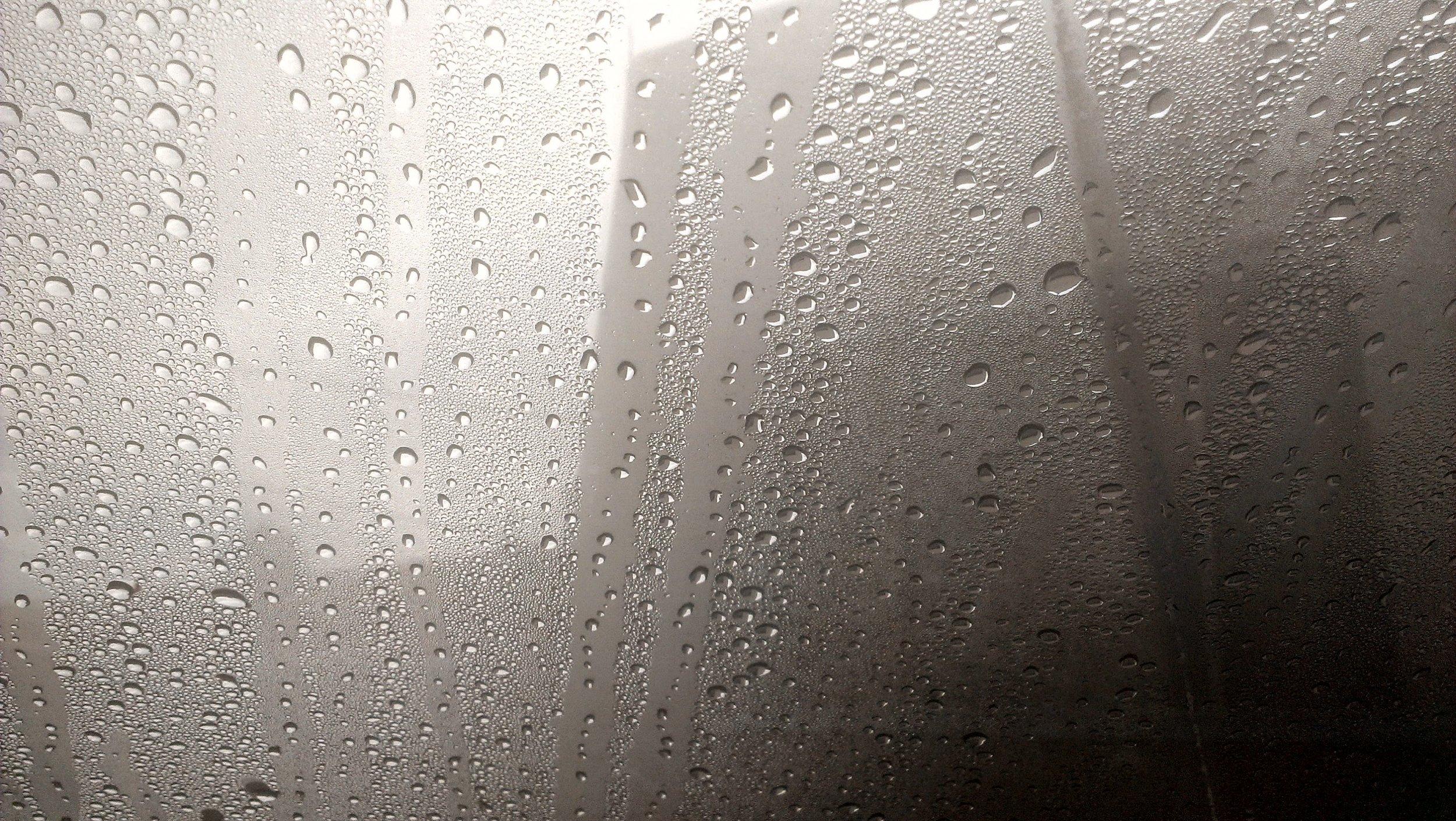 The romance of rain.