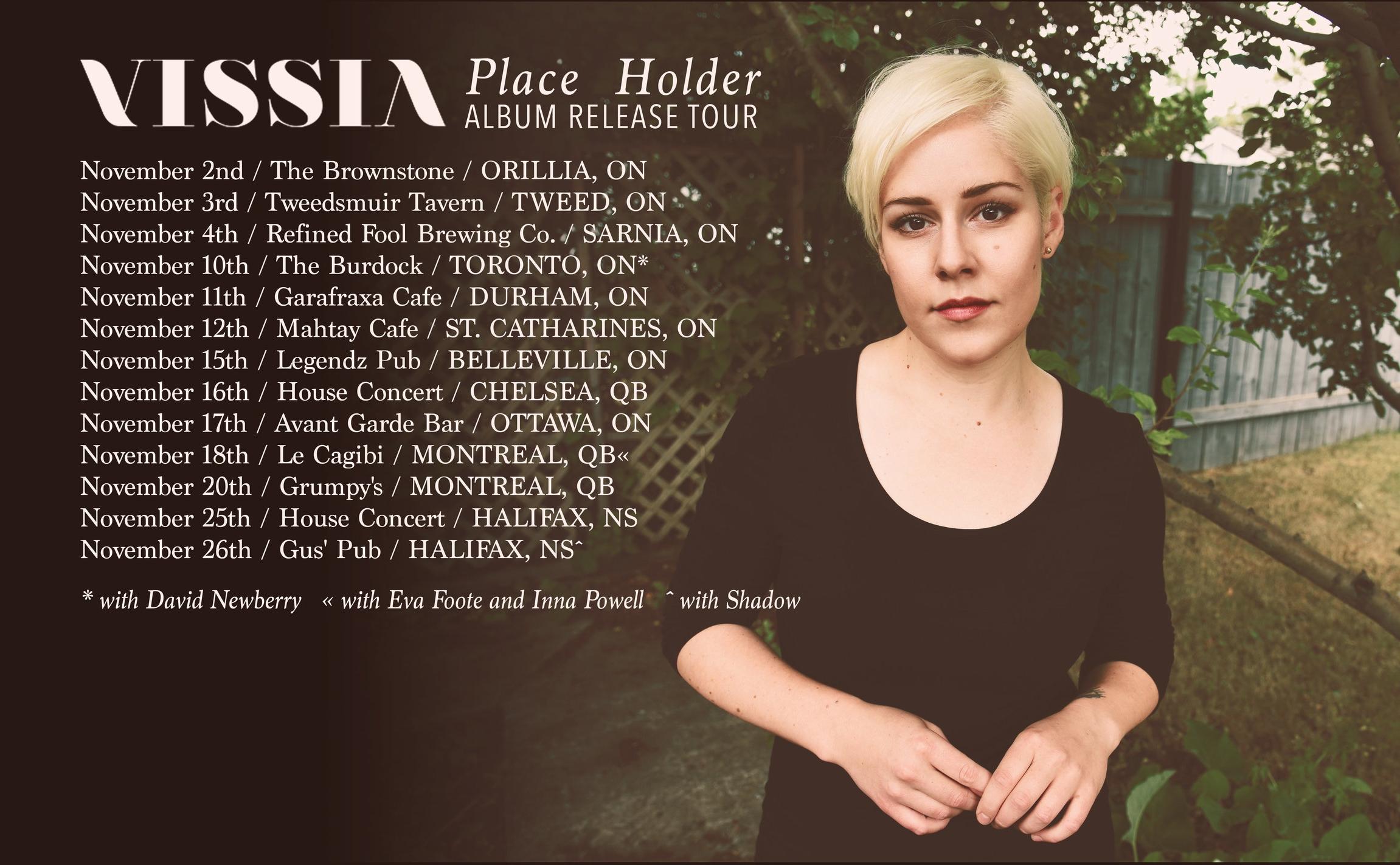 VISSIA Canadian tour