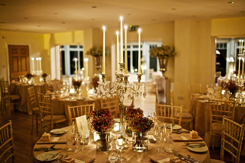 Candelabra for wedding breakfast .JPG