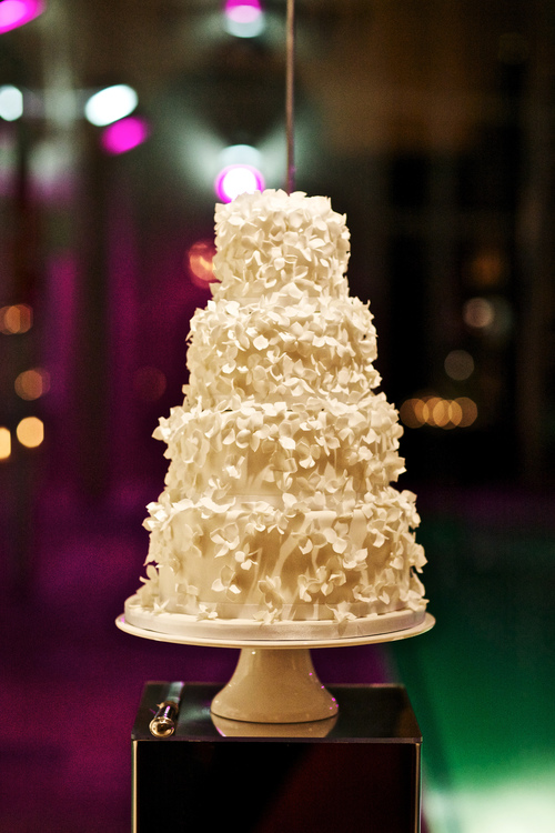 Four tier wedding cake .JPG