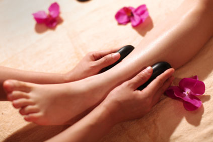 Enjoy a Deluxe Pedicure with free Hot Stone Massage - Enjoy the ultimate in luxury treatments with our Deluxe CND Spa Pedicure. Sit back and relax in our heated massage chair in the privacy of our VIP Pedicure room, and we will incorporate our gorgeous hot stones FREE of charge. Pure bliss!!!