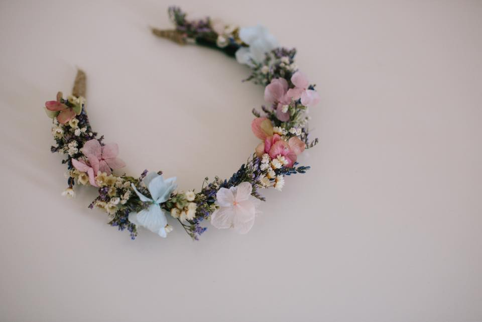 Folky Dokey - www.facebook.com/FolkyDokeyBespokeThe most beautiful flower crowns I have ever come across in my time as a bridal hair and make up artist. So delicately and lovingly made.