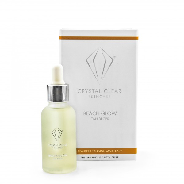 Our product of the month is.....Crystal ClearBeach Glow Tan Drops! - An absolute favourite for this cold weather where a tan is no where to be seen!10% off this month on Crystal Clear's Beach Glow Tan Drops!!!It is easy to apply, with it drying quickly and with a pleasant fragrance.This will leave you looking like a bronzed goddess as it will give you that glow as well as a gorgeous tan!Key ingredients:DHA Plus, a scientific breakthrough to get rid of the normal self-tanning odourCoconut Oil, to moisturise skin and leave a gentle sheen, making you feel enveloped in luxury the second you apply.A Clever Sugar Complex, helps deepen the colour of your tan and makes it last even longer before you need to re-apply