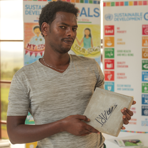 In Ethiopia, entrepreneur crafts concrete from beer waste    DOT Ethiopia