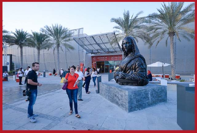 """Abu Dhabi Art  When : Nov 16, 2016 to Nov 19, 2016    Abu Dhabi Art  When : Nov 16, 2016 to Nov 19, 2016  The Abu Dhabi Art Programme is a cornerstone of the wider Abu Dhabi Art platform featuring a dynamic, interdisciplinary set of art, talks and sensational experiences for all audiences to enjoy. The Programme this year includes performances, panels, workshops, exhibitions, design presentations and artist installations featuring artists, curators, collectors, gallerists and scholars from around the world.  Modern, Contemporary & Design Galleries The exhibiting galleries represent the world's most innovative and established galleries offering exceptional artworks.  Signature An opportunity for galleries to present a solo exhibition for one of their artists.  Beyond Bringing art to the public arena, Beyond provides a Public art platform for large scale sculptures and installations.  Bidaya Bidaya means """"beginning"""" in Arabic and is awarded to one emergent gallery, launching its journey on the international art scene.  Artists' Waves Features innovative artworks shown in a curated, artist-led exhibition, where visitors can interact with the galleries representing these artists."""