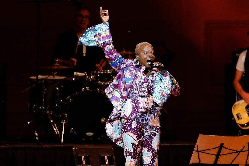 T hree-time Grammy winner, and one of the African continent's most influential figures performing for the first time in the UAE, Angélique Kidjo reimagines  Remain in Light , with electrifying rhythms, African guitars, and layered backing vocals, joined by the Antibalas Horns. The project, which premiered to broad acclaim at NY's Carnegie Hall, and was one of the standout performances at Bonnaroo, makes its UAE debut.
