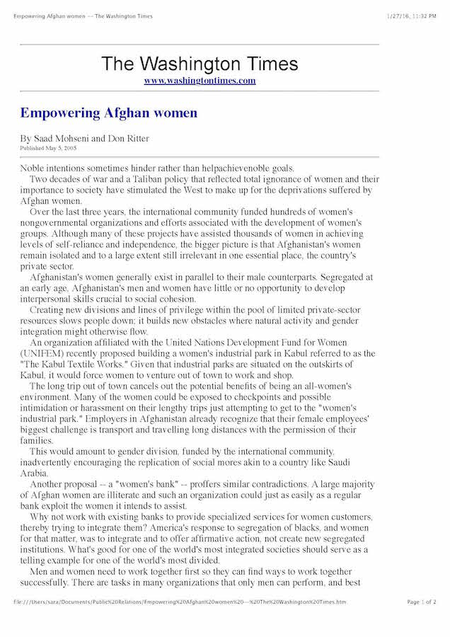 Empowering Afghan women -- The Washington Times_Page_1.jpg
