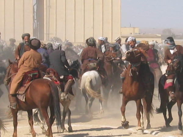 Buzkashi in Mazar-i-Sharif