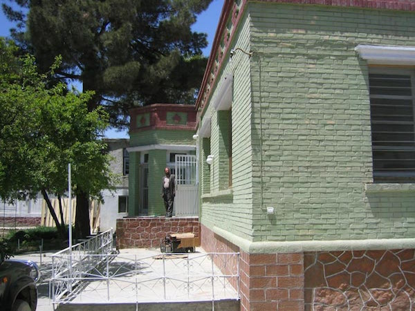 "My ""new"" old house in Kabul.  Worked hard to avoid 70's construction and find something from the 1920's."