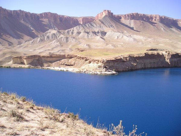 One of Bande Amir's 7 lakes