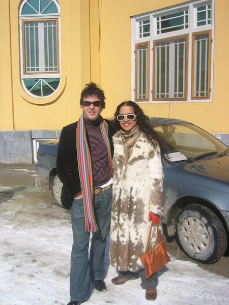 Friend who had arrived from India had to buy that fur coat the first day
