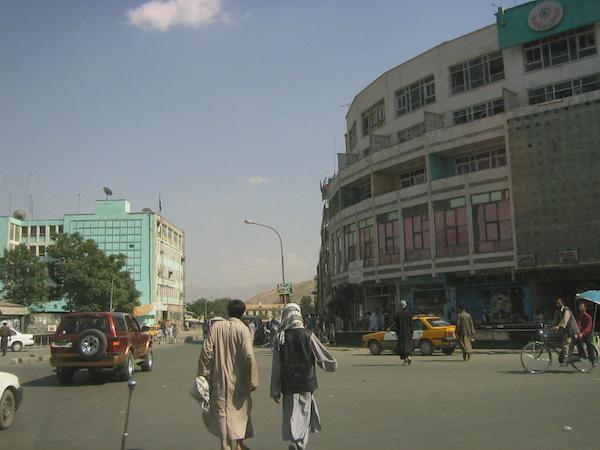 Kabul city centre