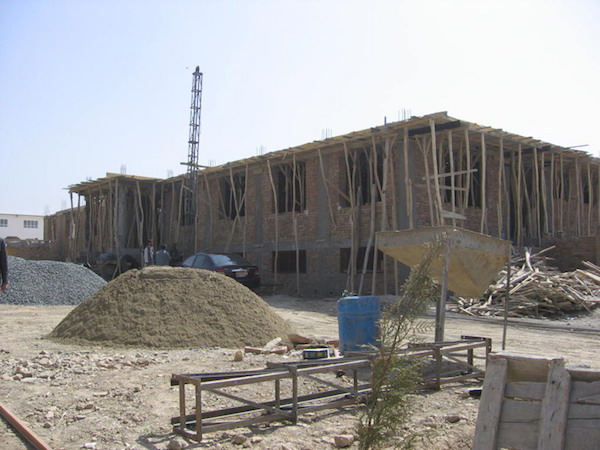 Construction progress on Nasrullah's new production facility