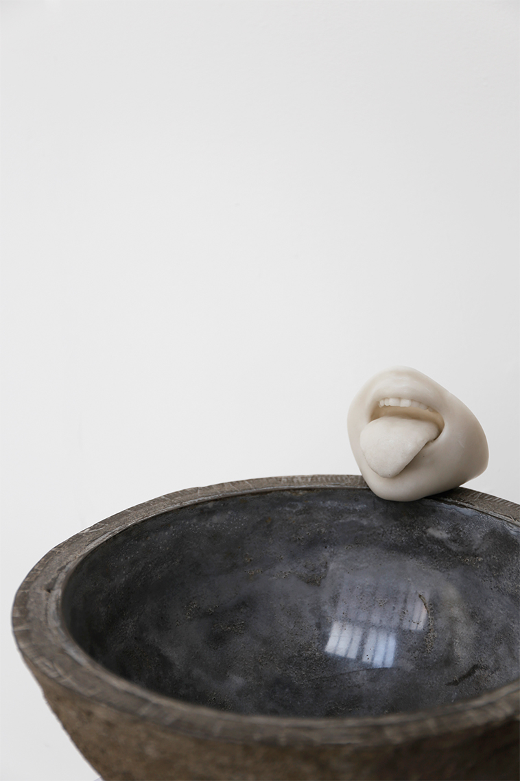 'Zest for Live', 2015. Aluminous cement, marble powder, polyester resin.