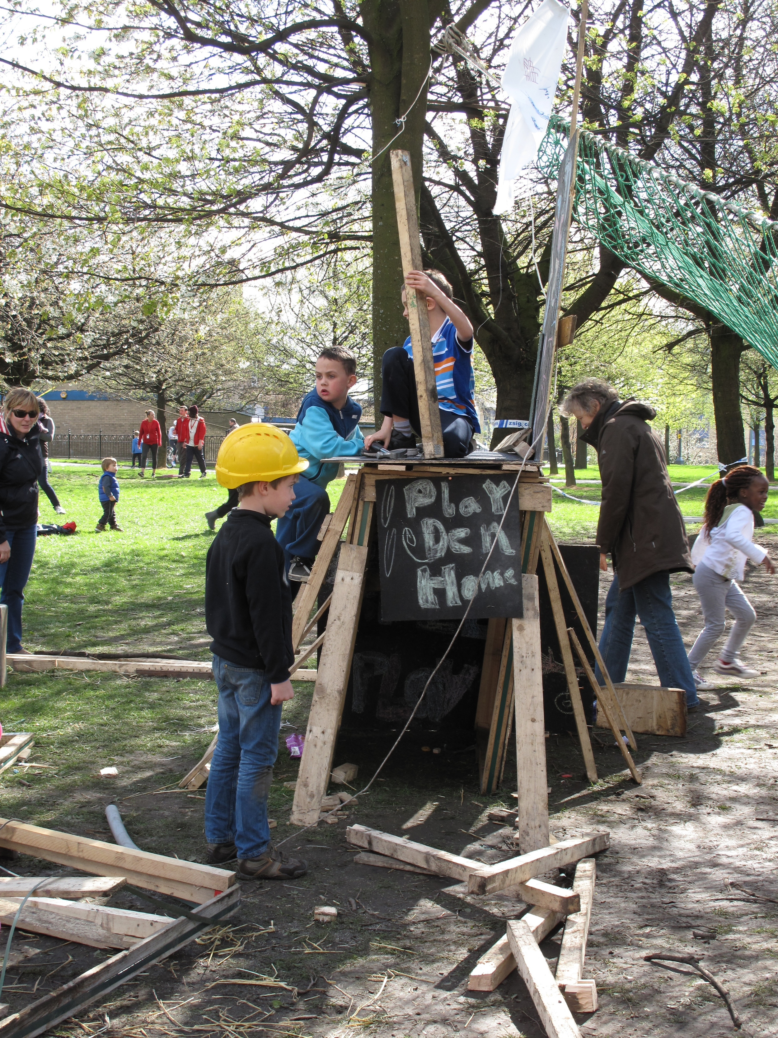 'Baltic Street Adventure Playground', 2014 - ongoing. Image courtesy of Assemble.