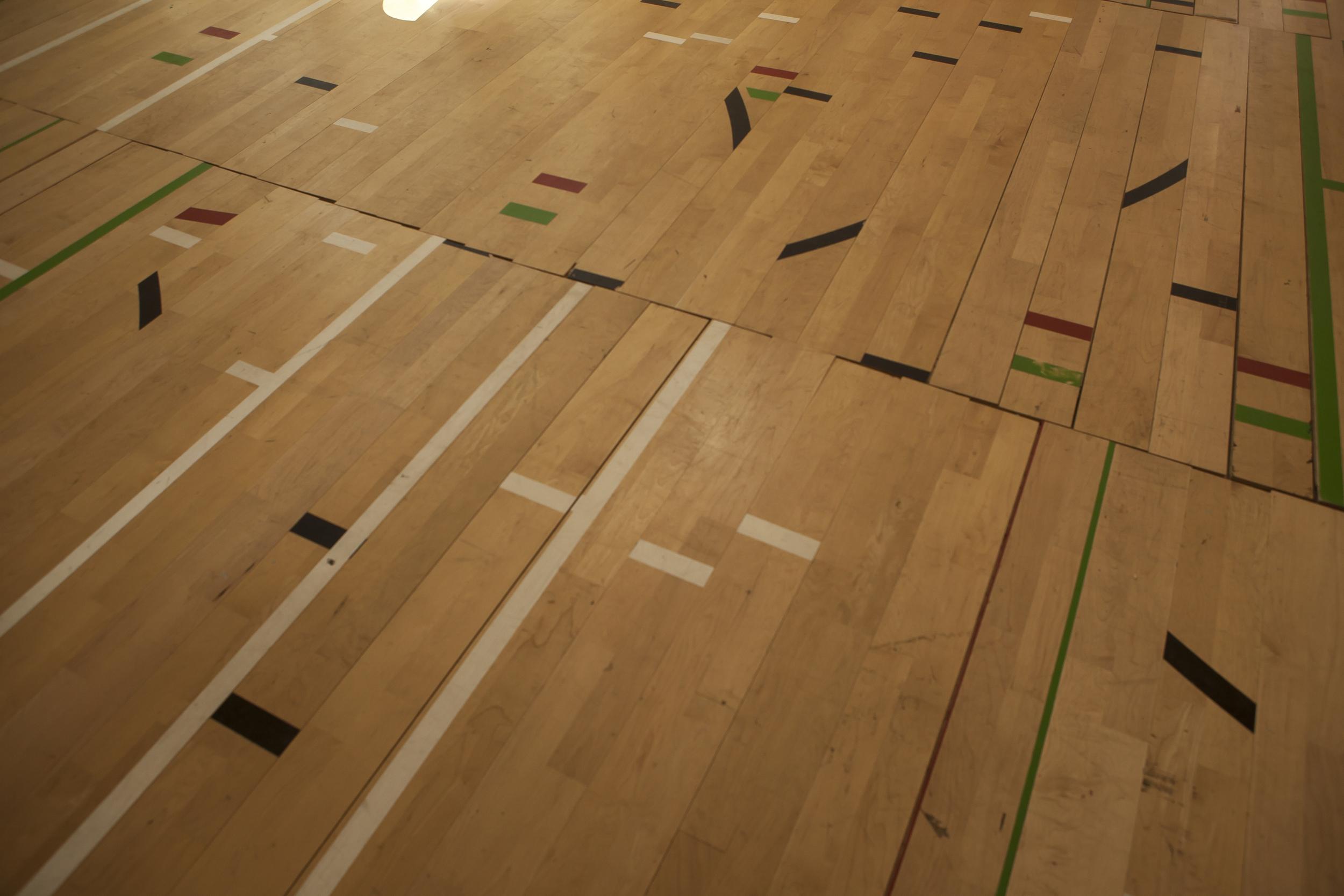 Limbs Describe Curves , 2015. Installation Shot: Marta Cervera Gallery, Madrid, Spain (September 2015).