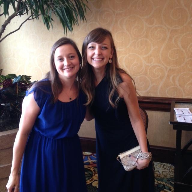 My roomie,  Amanda Cox!