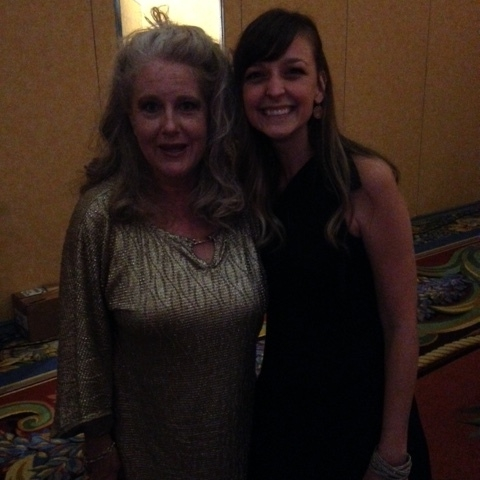 With the lovely and vibrant Jen Turano at the ACFW awards gala.