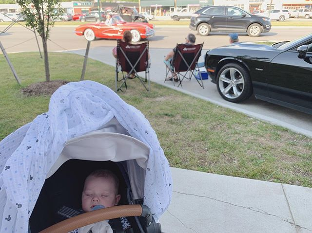 Baby's first #WoodwardDreamCruise #Detroit