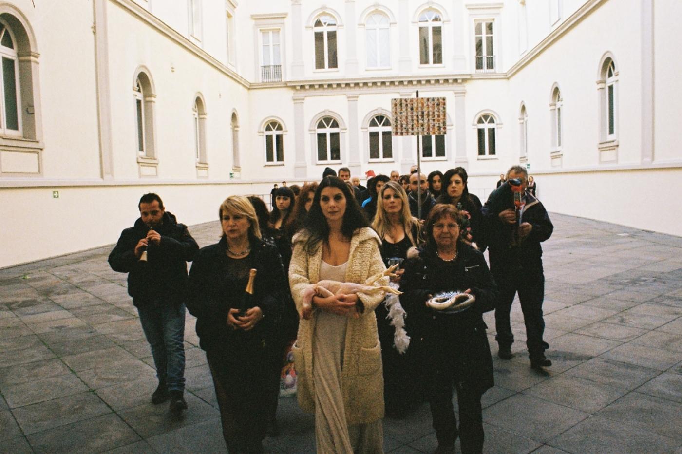 LA SACRA FAMIGLIA solo show Naples