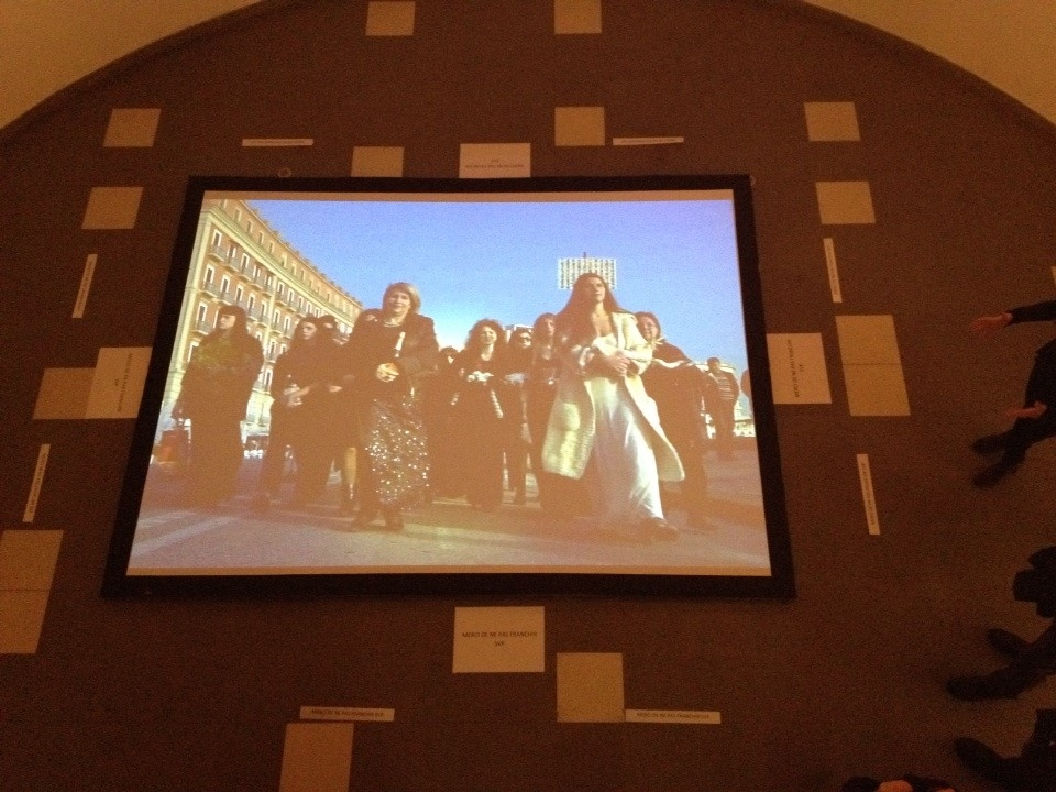 LA SACRA FAMIGLIA solo show - Le Toboggan - Décine Lyon   LA SACRA FAMIGLIA - opening January 6 2016 6.30pm  Solo show - Le Toboggan: http://www.letoboggan.com/-EXPOSITIONS-.html   January 6 - February 14  produced by: Le Toboggan, DAFNA Gallery - in collaboration with: Museo Archeologico di Napoli, MADRE Napoli, Alberta Pane Gallery - photos Mauro Bordin - film maker Andrés Arce Maldonado