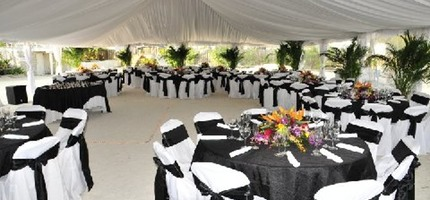 Table and Chair rentals in miami and party rentals