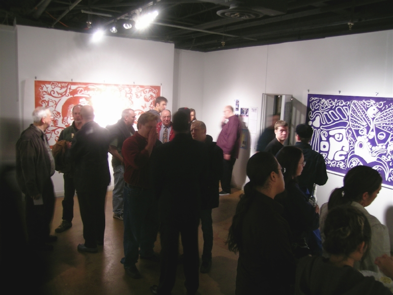 Opening Reception California Building Gallery, Minneapolis, MN