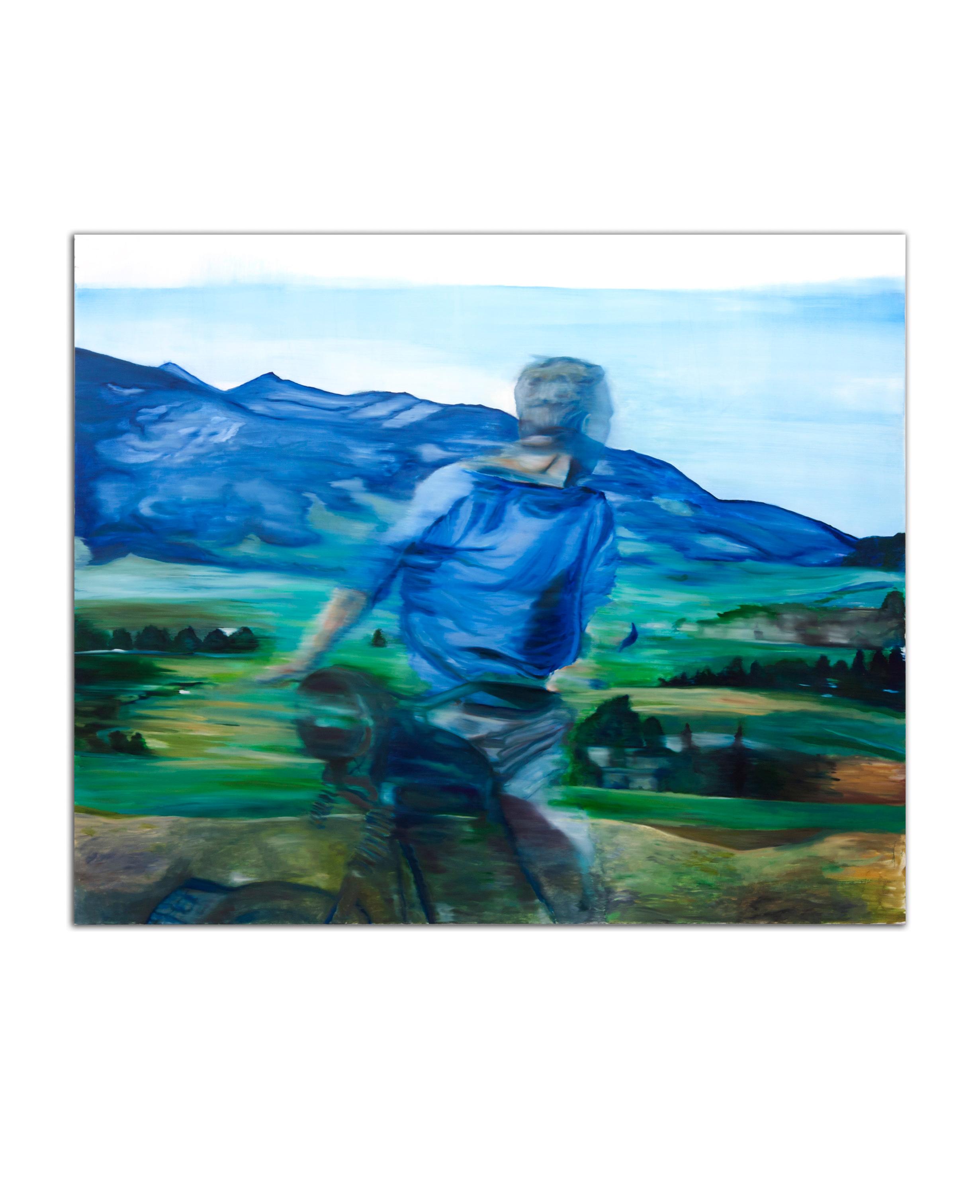 Faster Escape. Oil on canvas. 63 x 50 inches. 2011.