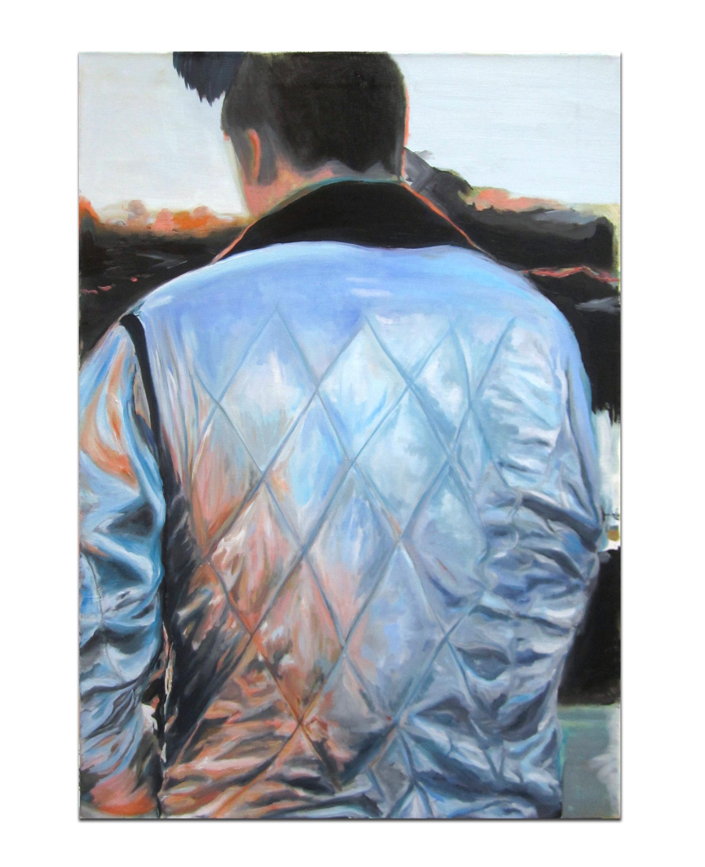 Sunset LA LA. Oil on canvas. 34 x 24 inches. 2013.