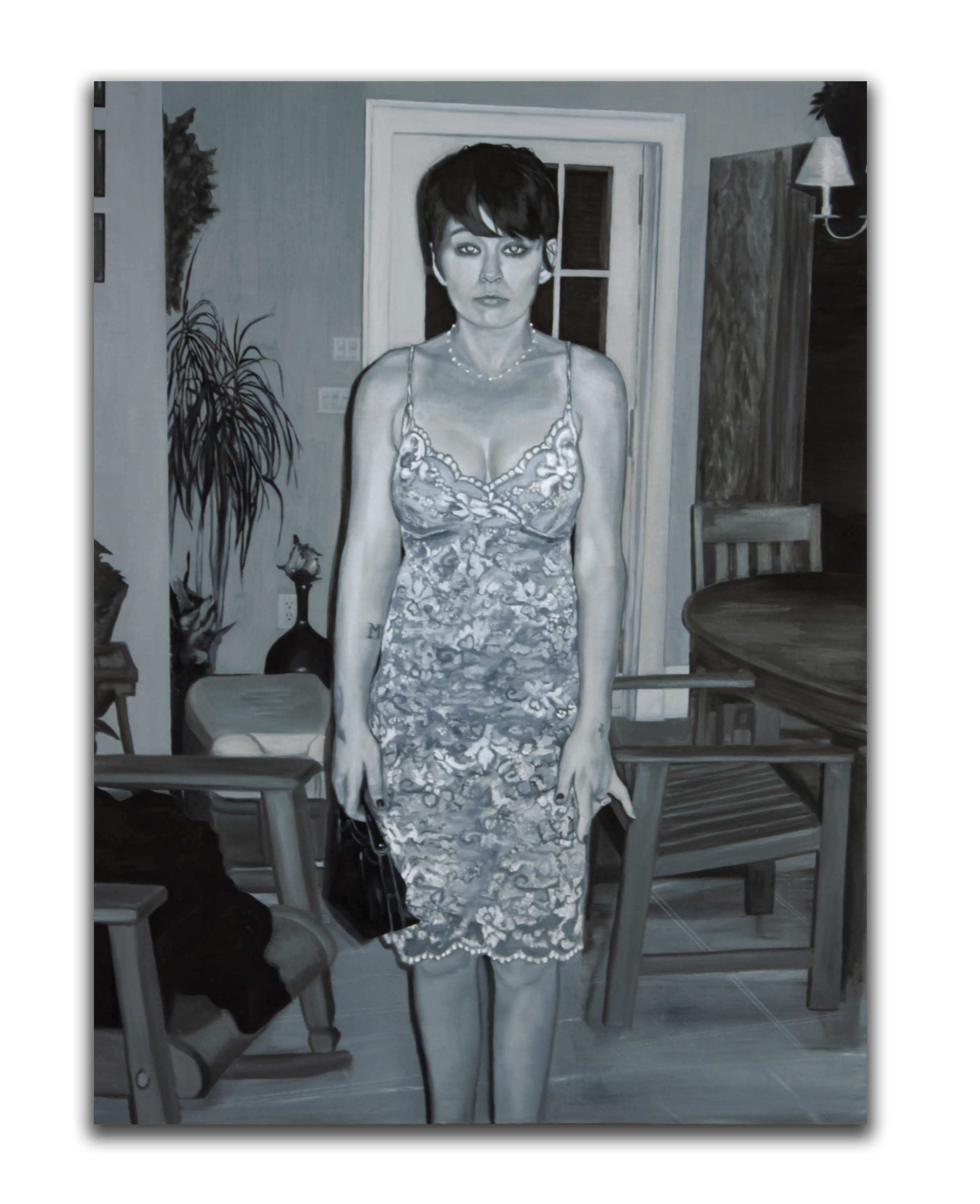 Mary. 48 x 36 inches. Oil on canvas. 2006.