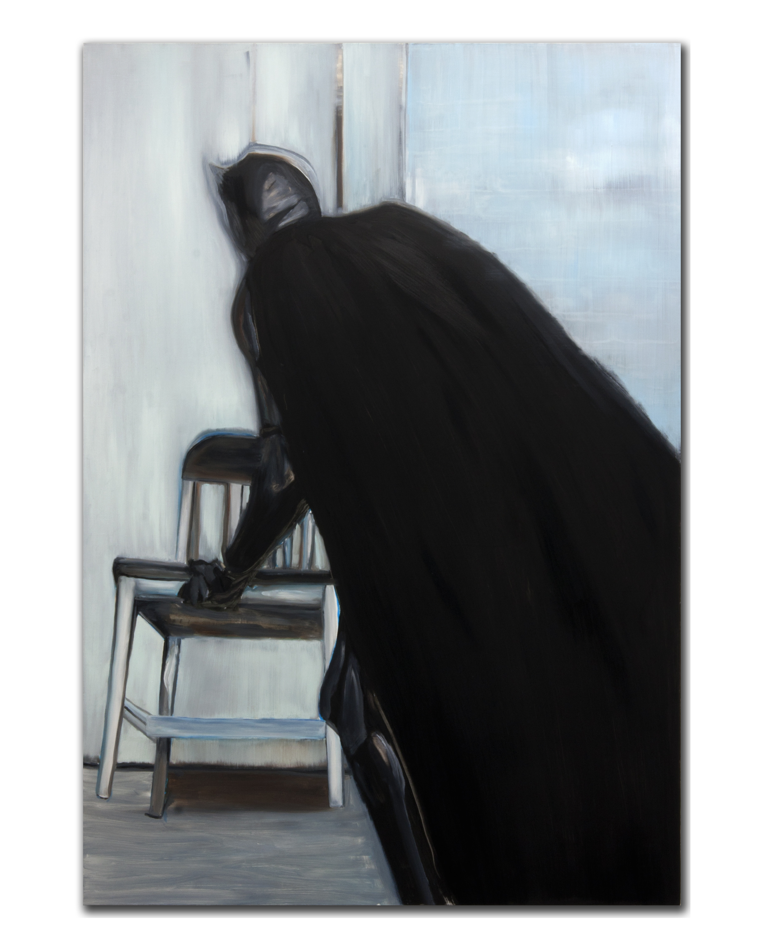 Material Limitations. Oil on canvas. 72 x 50 inches. 2012.