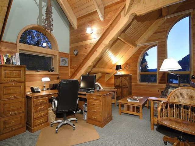 Office and Sitting Room