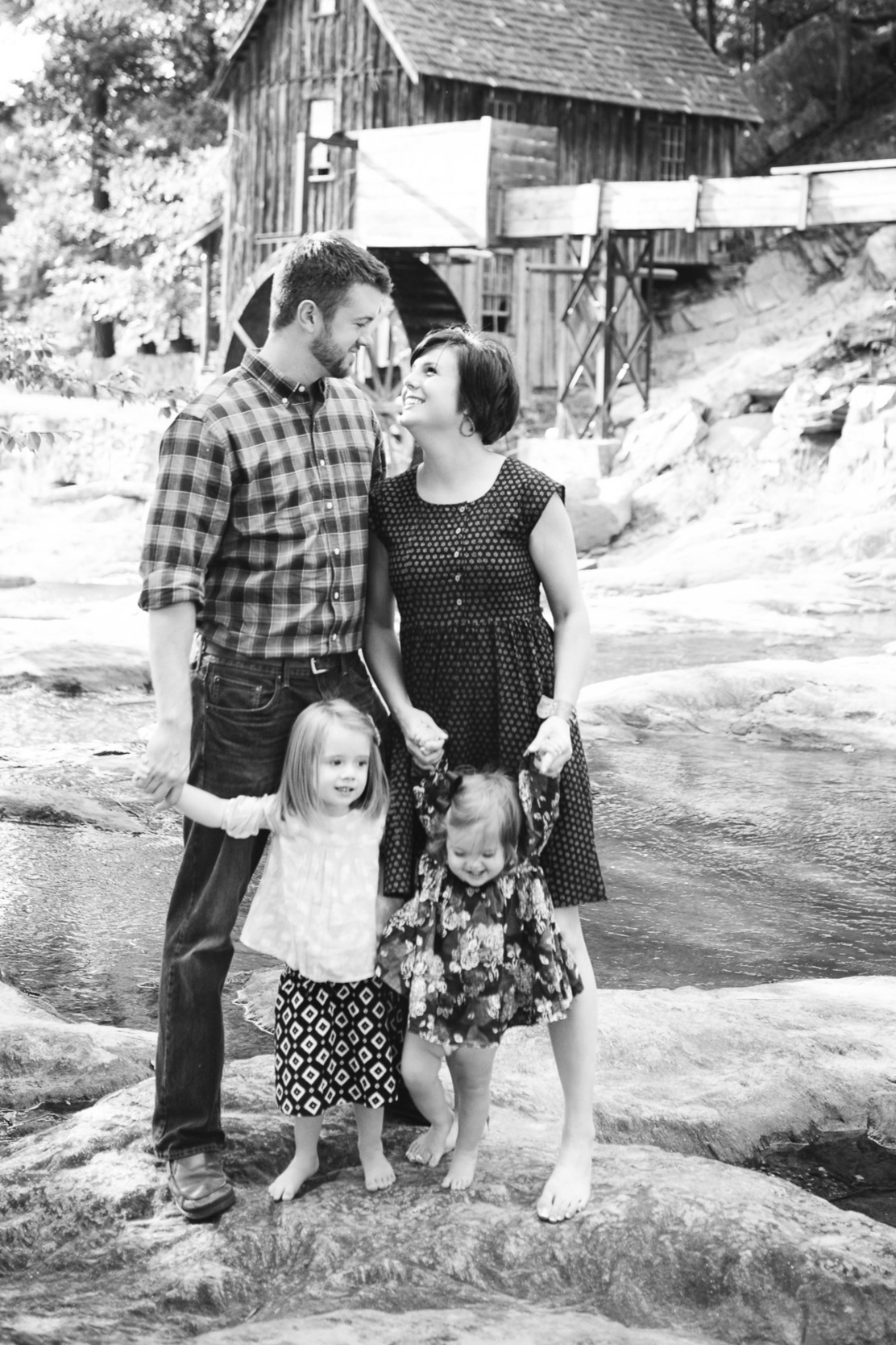 David, Stephanie, Shiloh, & Afton Cannon | Photo by  Linds On Life Photography