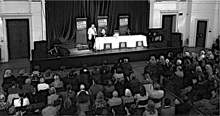 Jeremy Corbyn addresses a packed meeting in Hastings, May 24. Photo: Pete Knight