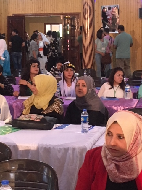 Delegates gather for the founding congress of Free Women of North and East Syria