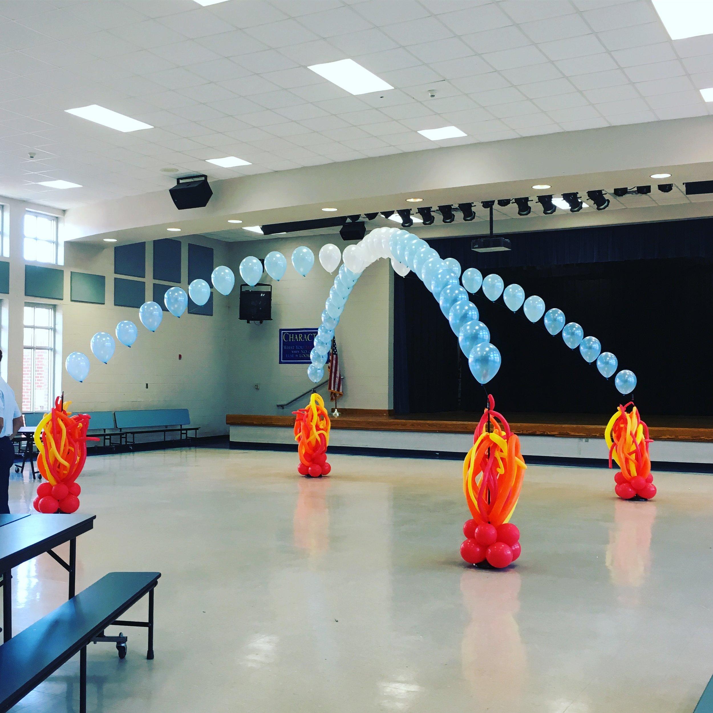 Fire + Ice Dance Floor