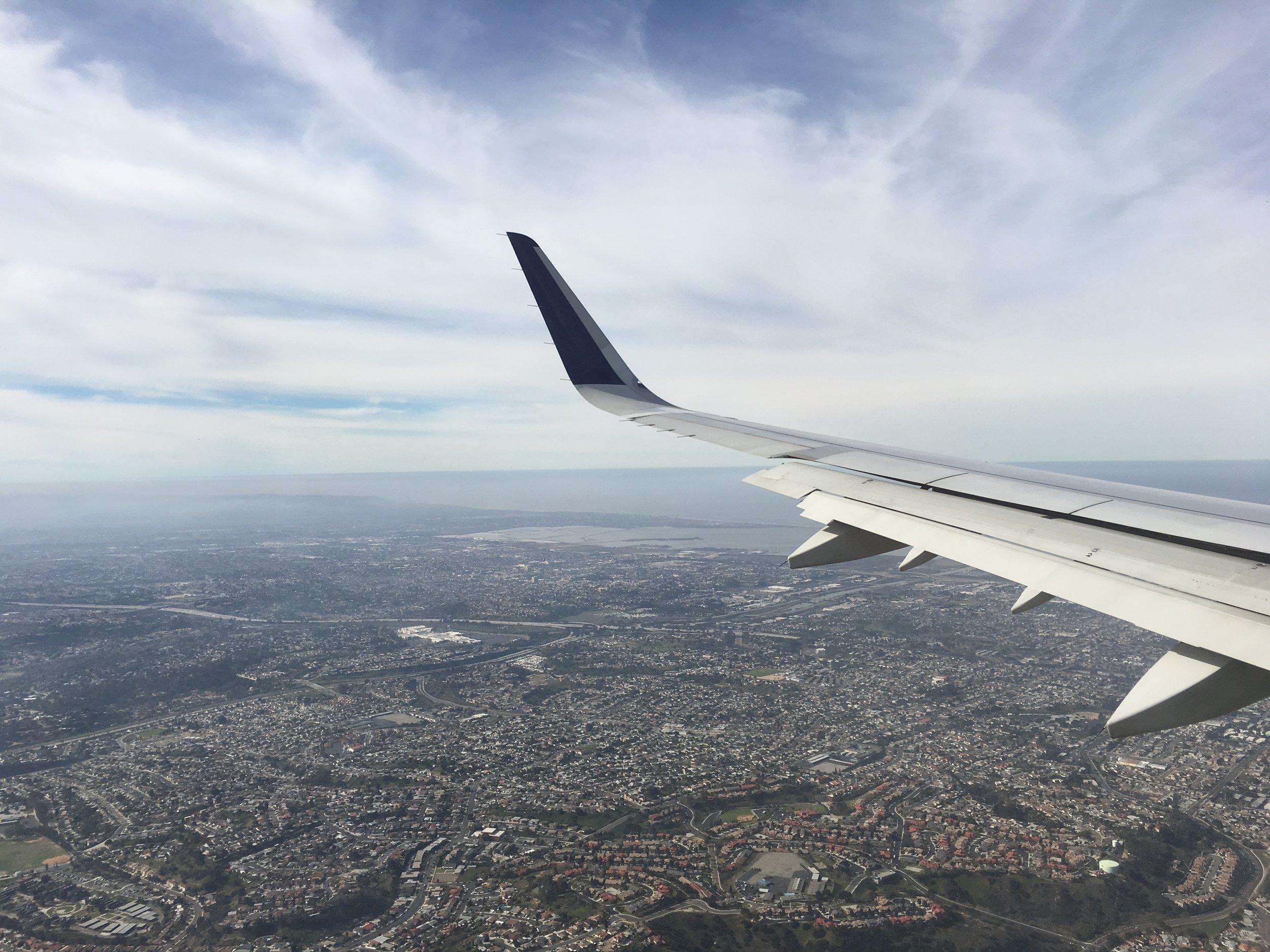On my way to San Diego