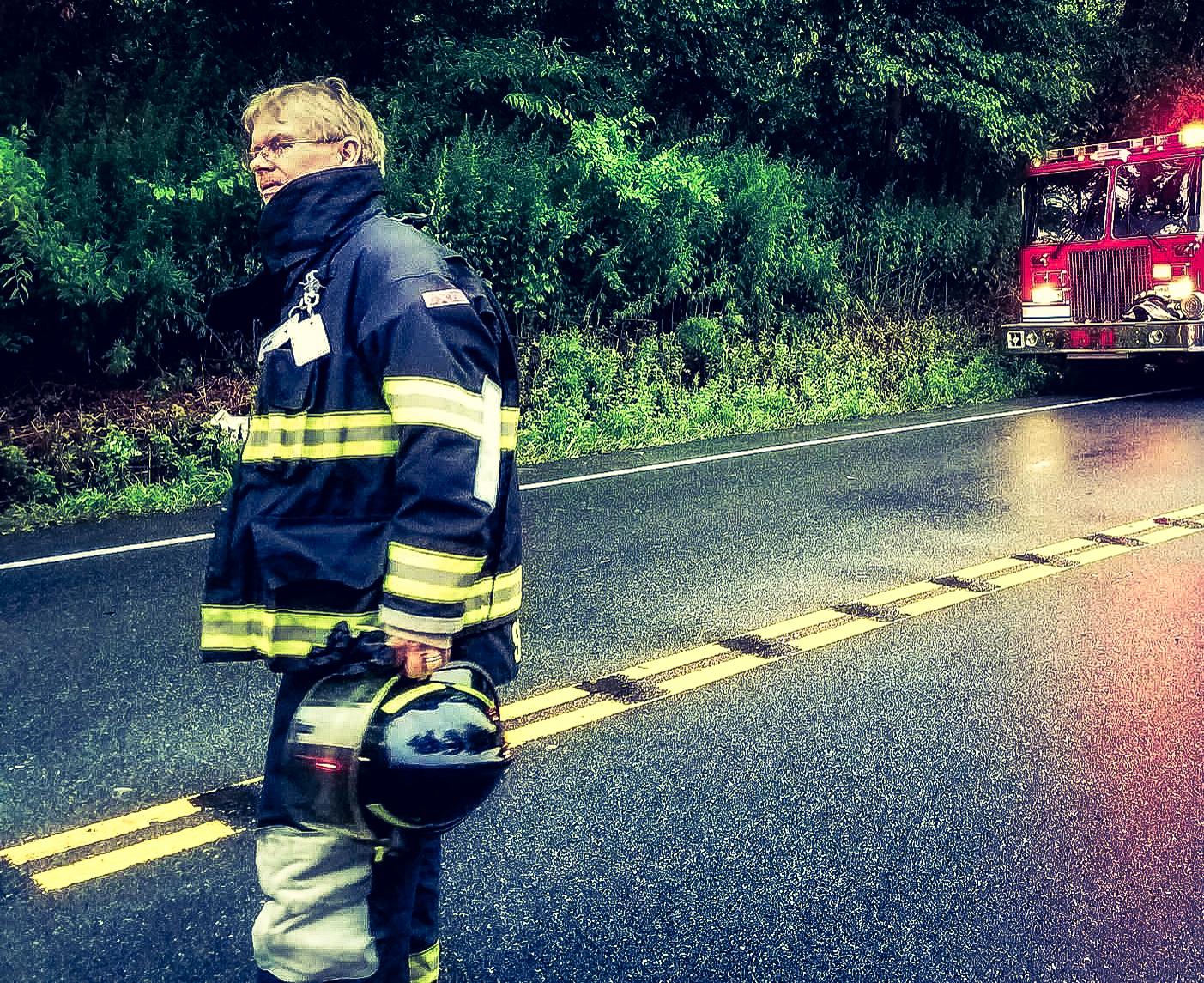 Lenny Splain        Firefighter/Commisioner