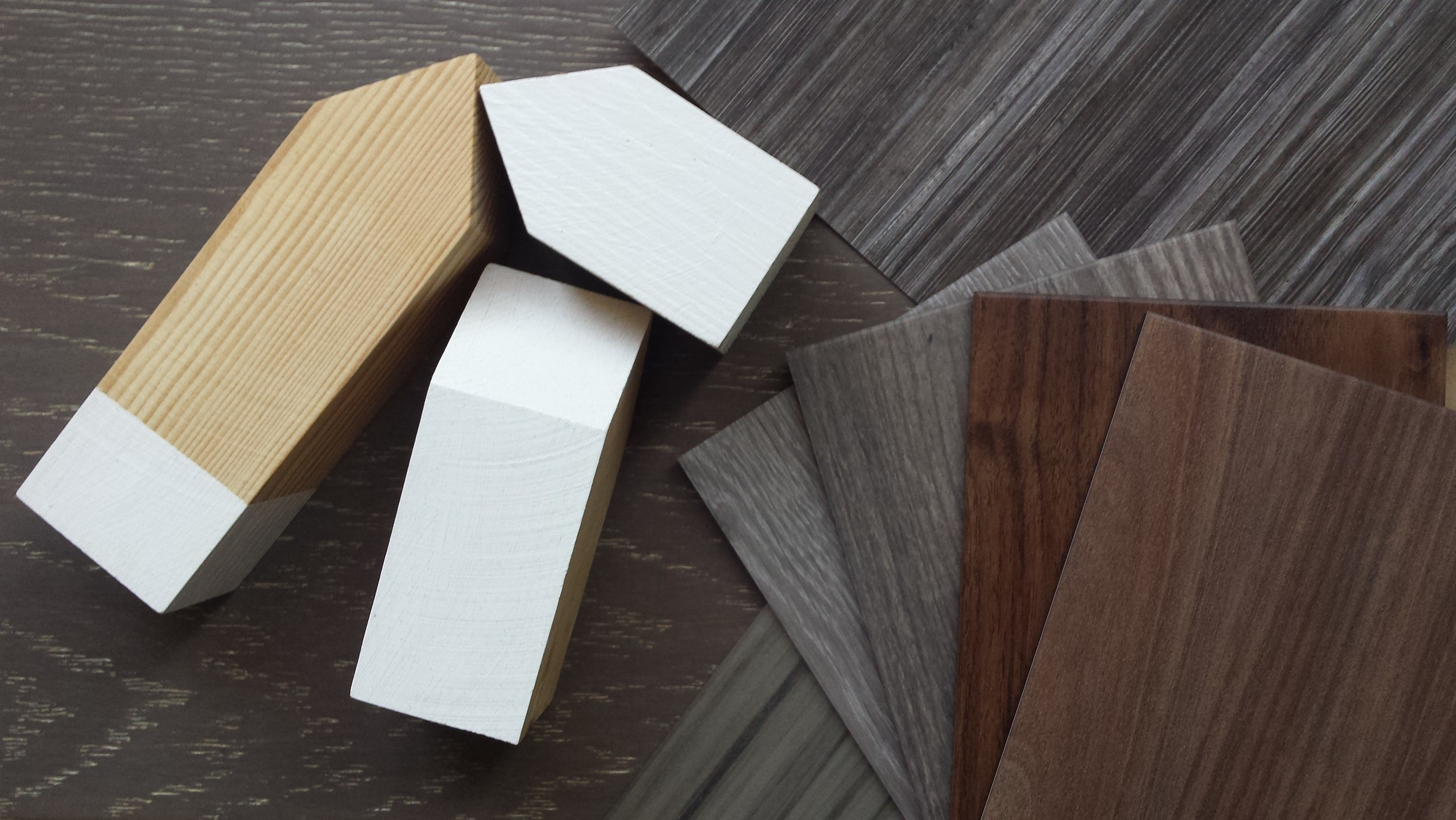 ©Detail Movement_wood & veneer samples and, wooden accessories bought from Polymorphics