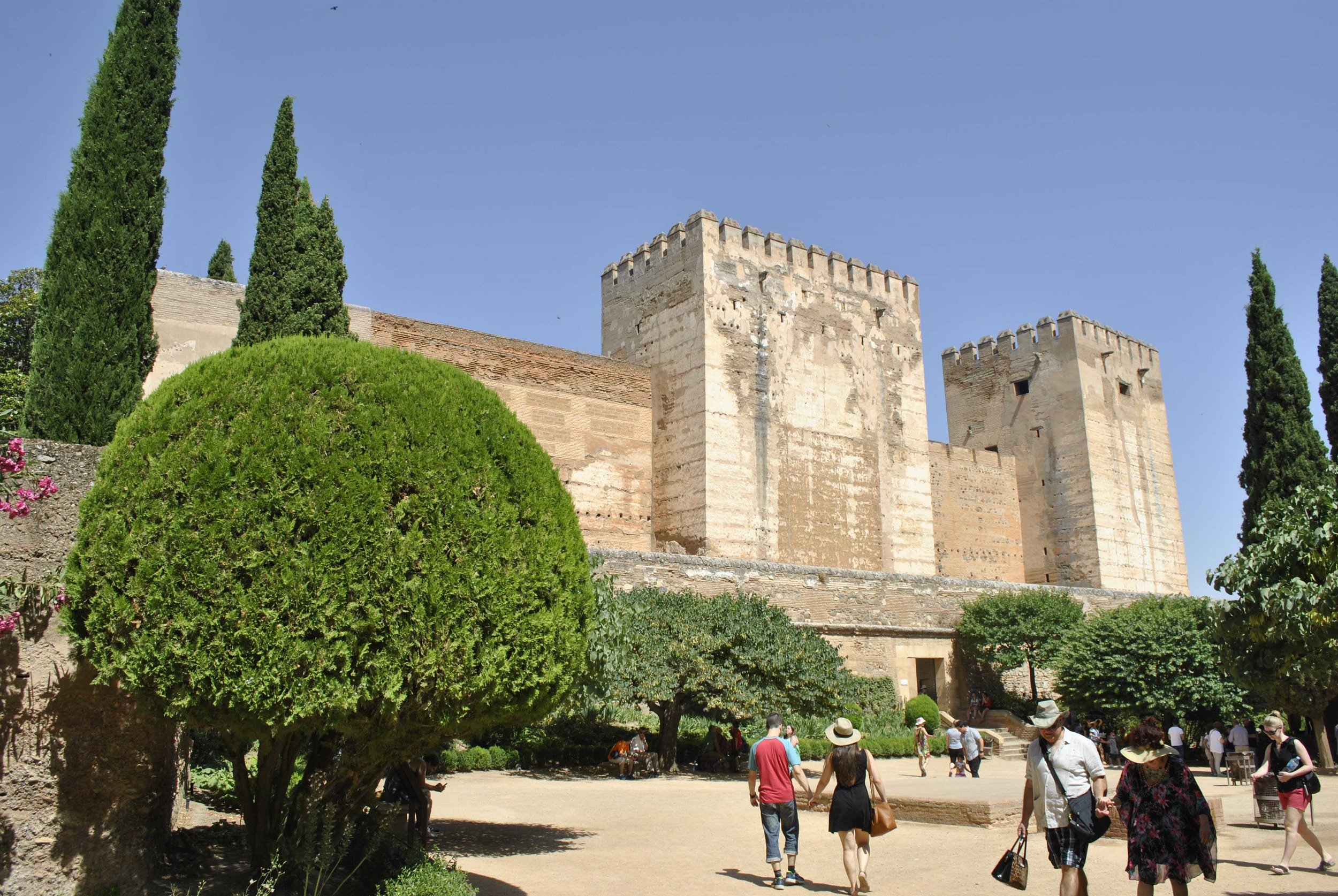 ©Detail Movement - Alhambra Alcazaba Fortress ( NO 14 ON THE MAP)