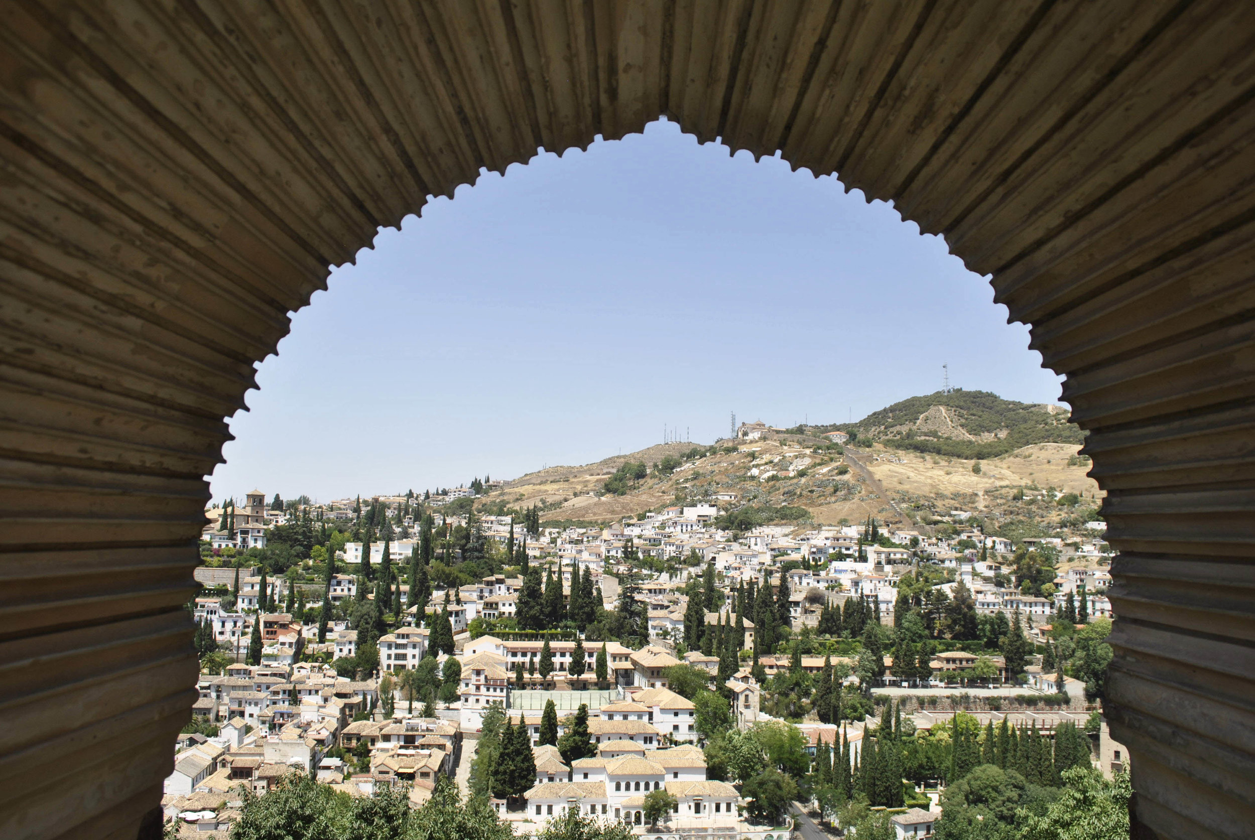 ©Detail Movement - Alhambra Partal Palace view (no 31 on the map)