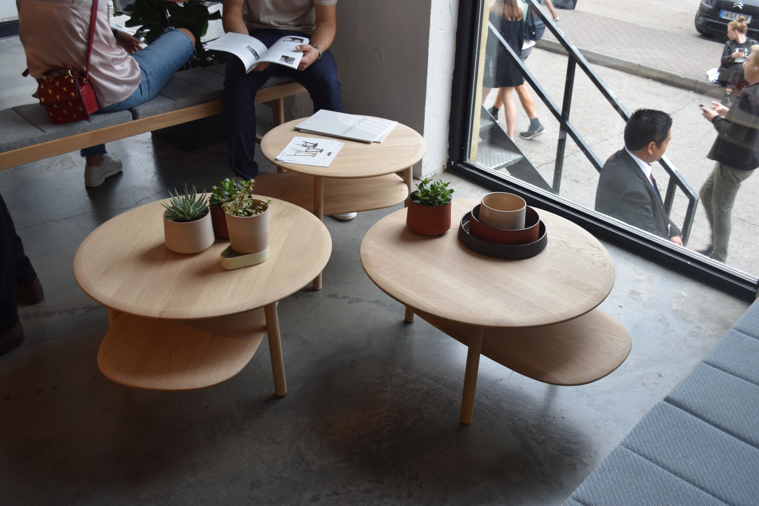 london design fair - Rank Tables by Stokke Austad. photo by ©Detail Movement