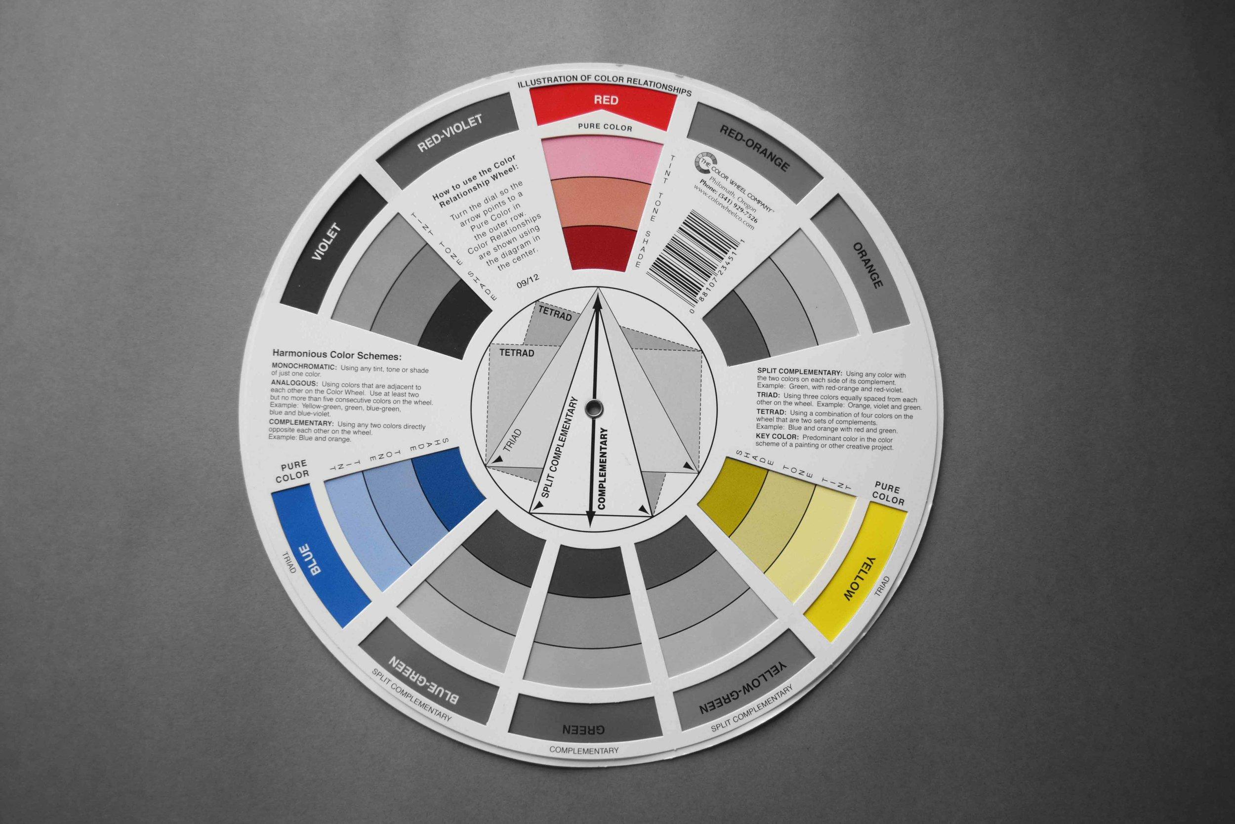 Colour wheel_Primary Colours_©Detail Movement