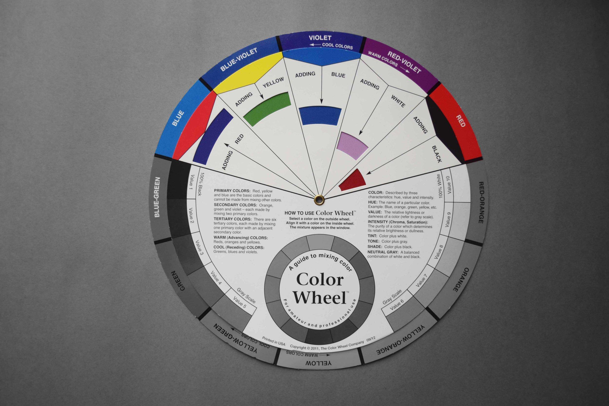 Colour wheel_Colour mix_©Detail Movement